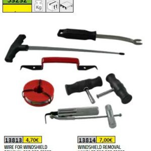 WINDSHIELD REMOVAL TOOL SET