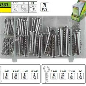CLEVIS PIN AND R-CLIP ASSORTMENT