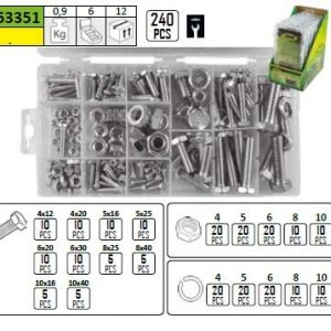 METRIC HEAD SCREW ASSORTMENT